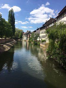 Sunny Sunday: April Camping in Strasbourg