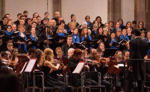Collegium Musicum gibt ein Konzert im Amphitheater