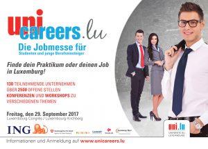 Große Jobmesse in Luxemburg am 29. September