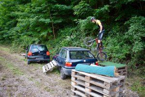 Trassemer Trial Biker unterwegs in Deutschland