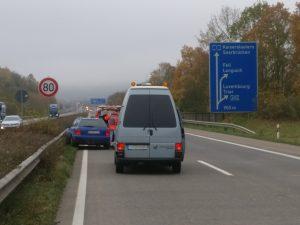 Polizei stoppt Autofahrer nach medizinischem Notfall