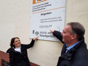 Andreas Steier (CDU) eröffnet Bürgerbüro und lädt zur Einweihung ein