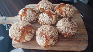 Carla`s Süßkartoffel-Curry-Brötchen