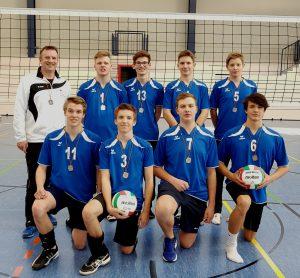 Silbermedaille für die Volleyballer des DBG