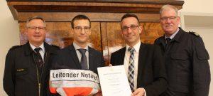 Leitender Notarzt für Trier wurde ernannt