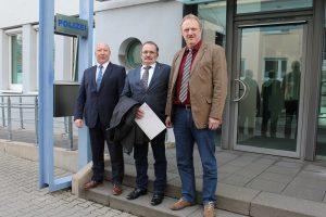Polizeipräsident Berg verabschiedet Beamten in den Ruhestand