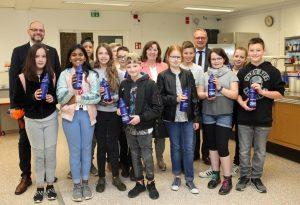 Kostenfreie Durstlöscher für zwei Trierer Schulen