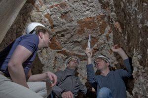 Neue Entdeckungen im Mauerwerk der Kaiserthermen
