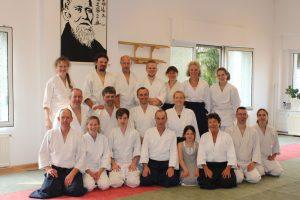 Aikido-Lehrgang mit Dieter Löpke aus Düsseldorf