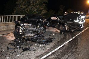 Verkehrsunfall mit vier Verletzten in Thomm