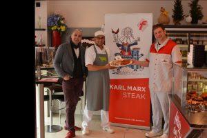 Marx wird nun zum Grillmeister in Trier