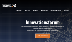 Virtuelle Technologien für KMU Innovationsforum Industrial-XR