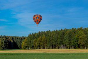 Das Schöne an Ballonfahrten ist nicht nur die Sicht von oben