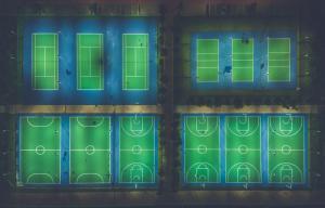 300 000 Euro für Sporthallen