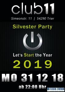Silvester-Partys in Triers Clubs