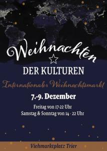 Weihnachten der Kulturen auf dem Viehmarkt vom 7. bis 9. Dezember