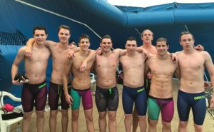 Die Schwimmer des SSV Trier sammeln mit der SG Rhein-Mosel Titel in Mainz.